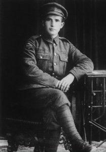 בן-גוריון במדי הגדודים העבריים, 1918