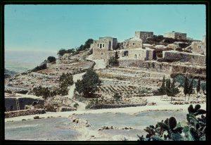 הכפר בית חורון עליון (פוקא), במעלה בית חורון