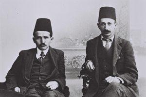 בן-גוריון ובן-צבי, סטודנטים למשפטים באיסטנבול.