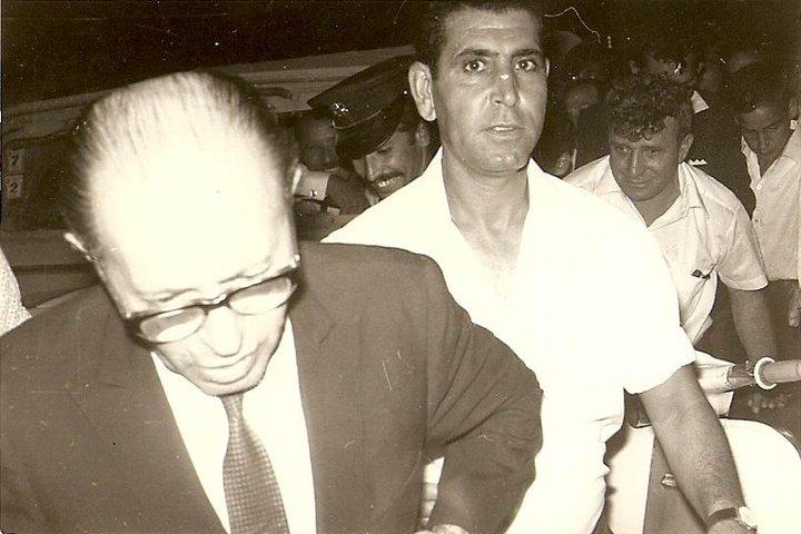 ביקור מנחם בגין באופקים לקראת הבחירות לכנסת 1977