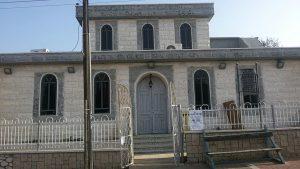 בית הכנסת אל ג'רבא בעיר נתיבות. צילום: רם חכמון