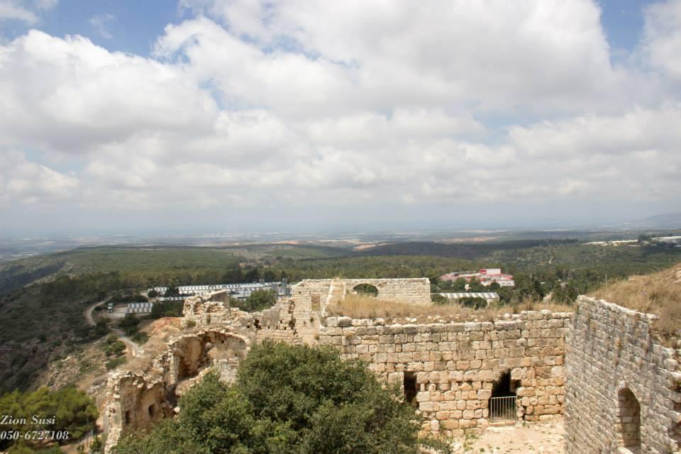 הנוף ממבצר יחיעם