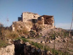 שרידי המבצר הצלבני בלטרון