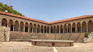 מתחם היסטורי מרשים. בית החאן (צילום: עיריית קריית שמונה)