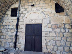 משקוף הכנסייה המרונית בברעם