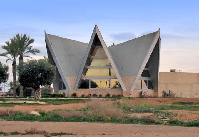 מבנה המרכז הרוחני לעולי אתיופיה בנתיבות