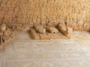 פסיפס המנורות בבית הכנסת