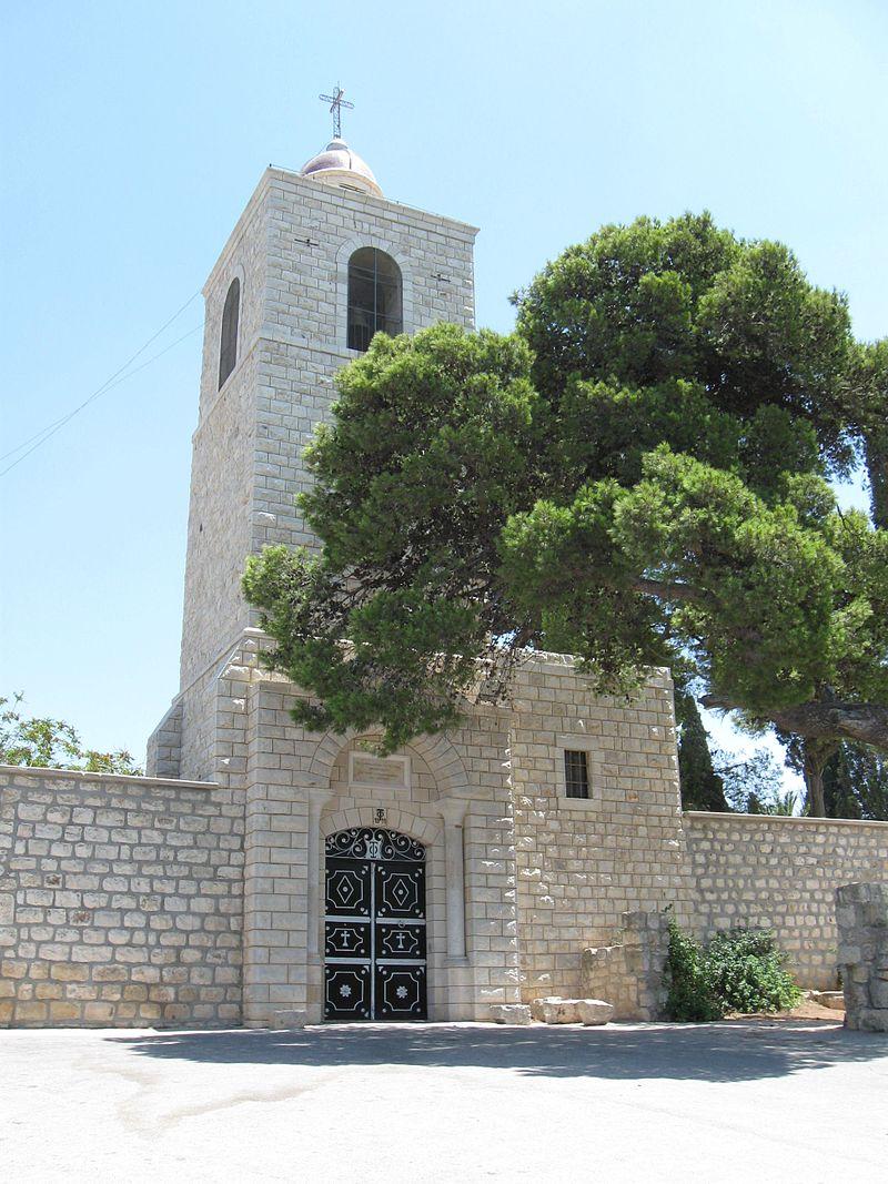 הכנסייה האורתודוקסית על פסגת הר תבור.