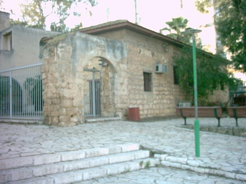 האגף המערבי של מבנה החאן ההיסטורי