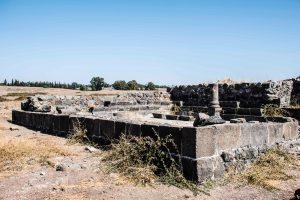 בית הכנסת בעין נשוט. Attribution: Heritage Conservation Outside The City Pikiwiki Israel