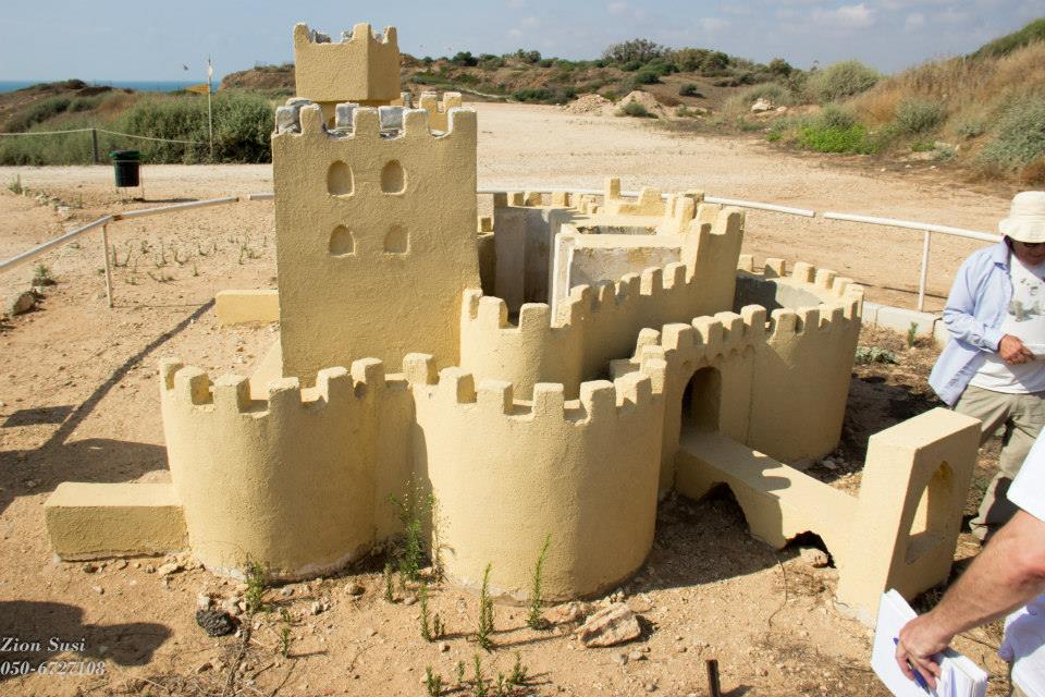 שחזור המבצר הצלבני בארסוף.