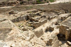 שרידי הוילה הרומית בארסוף   מסע הצלב