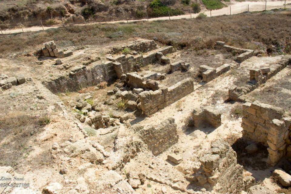 שרידי הוילה הרומית בארסוף