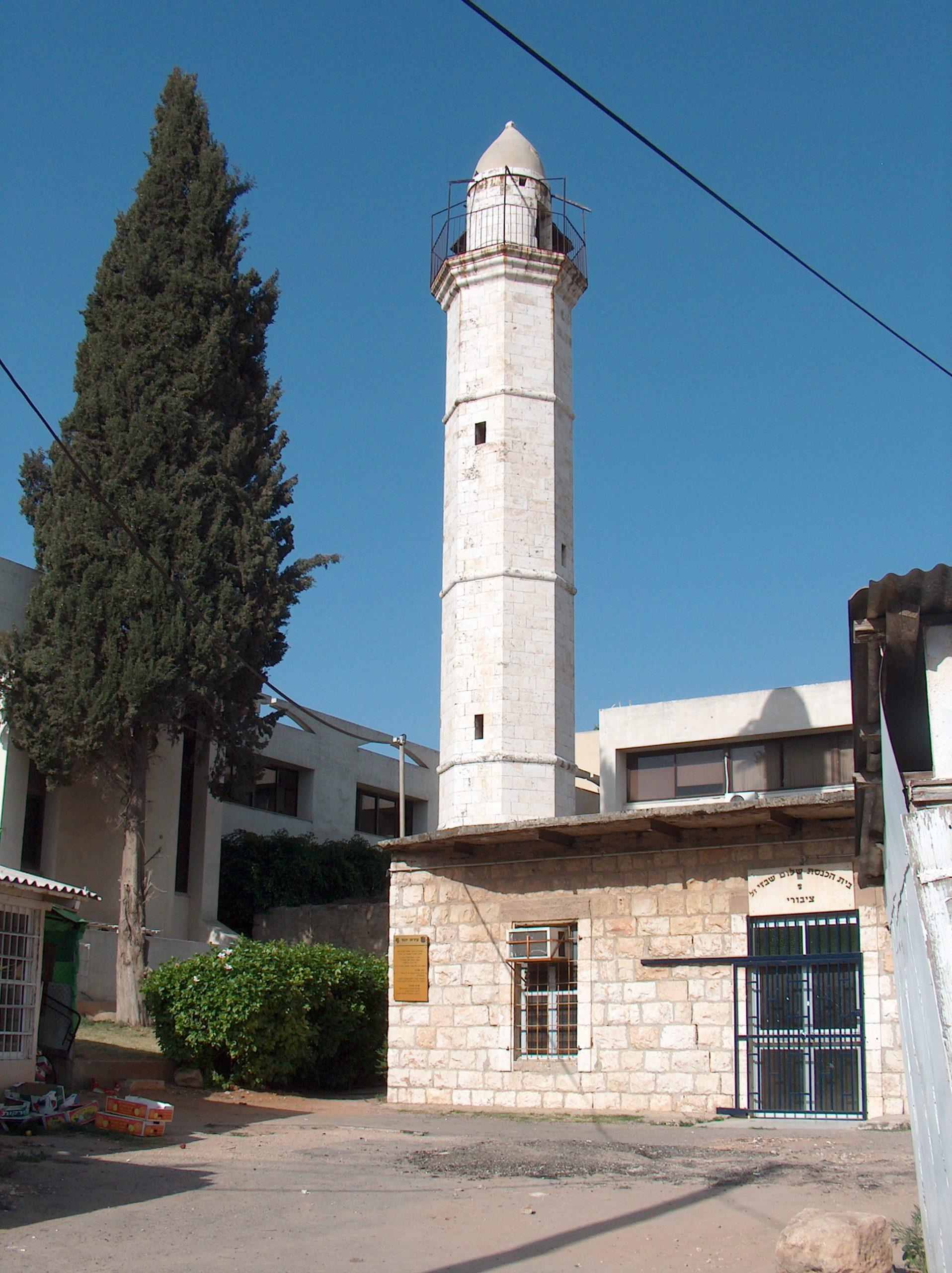 המסגד הגדול של עבאסייה, היום בית כנסת ביהוד.