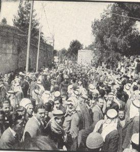הלווייתו של אל חוסייני, 9 באפריל 1948