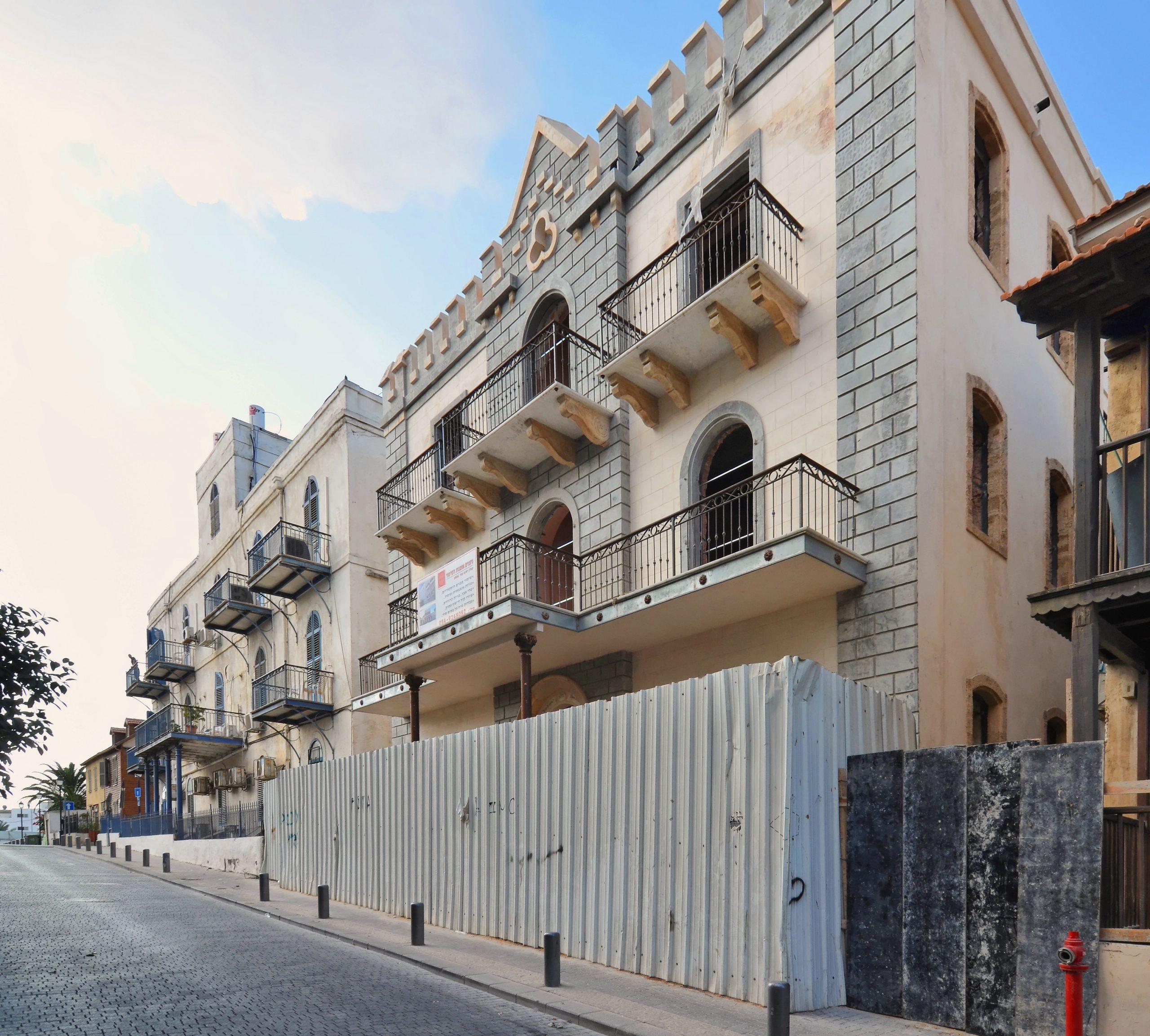 מלון ירושלים בזמן השיפוץ