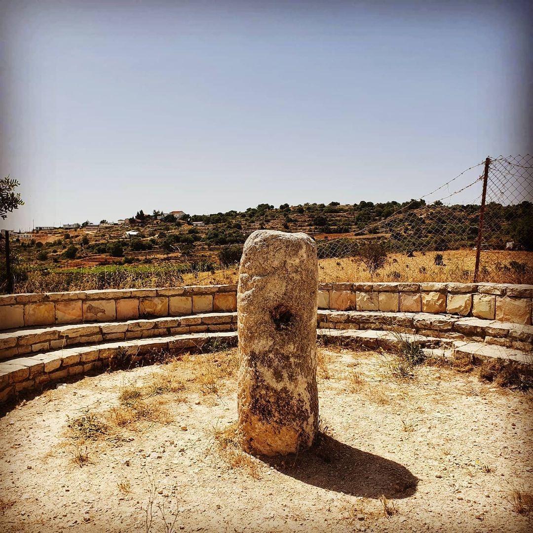 שרידים של אבן מיל רומית
