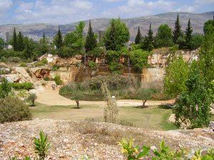 אתר המפלים בפארק הגליל